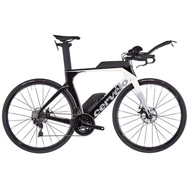 Vélo de Contre La Montre CERVÉLO P-SERIES DISC Shimano 105 R7000 34/50 Noir/Gris 2020